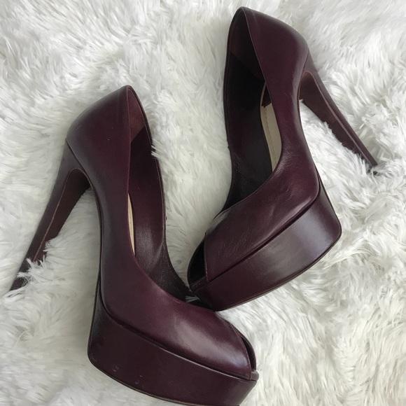 ca04db563d1 christian dior Shoes - Christian Dior plum pump heels size 37